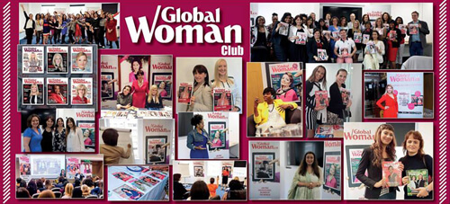 Anna-Christina with the Global Woman Club